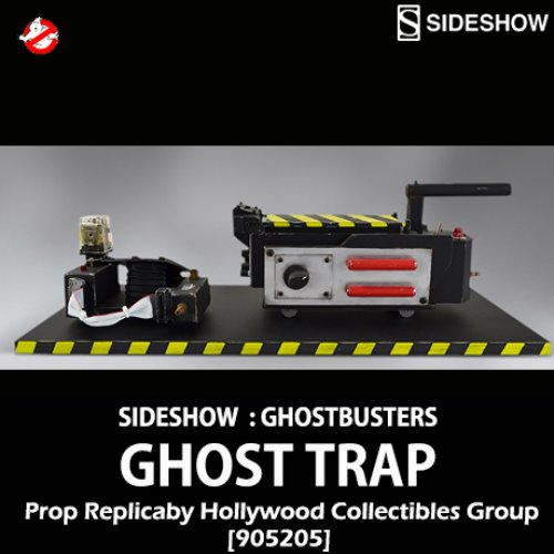 [예약상품][SIDESHOW][Hollywood Collectibles Group]고스트버스터즈 : 고스트 트랩 프롭 레플리카 Ghostbusters :Ghost Trap Prop Replica [905205]